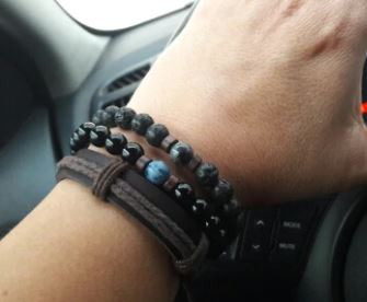 Bracelet Homme Perle Luxe photo review