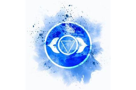 chakra du troisième oeil indigo