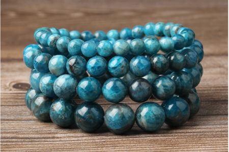 bracelets pierres naturelles bleu